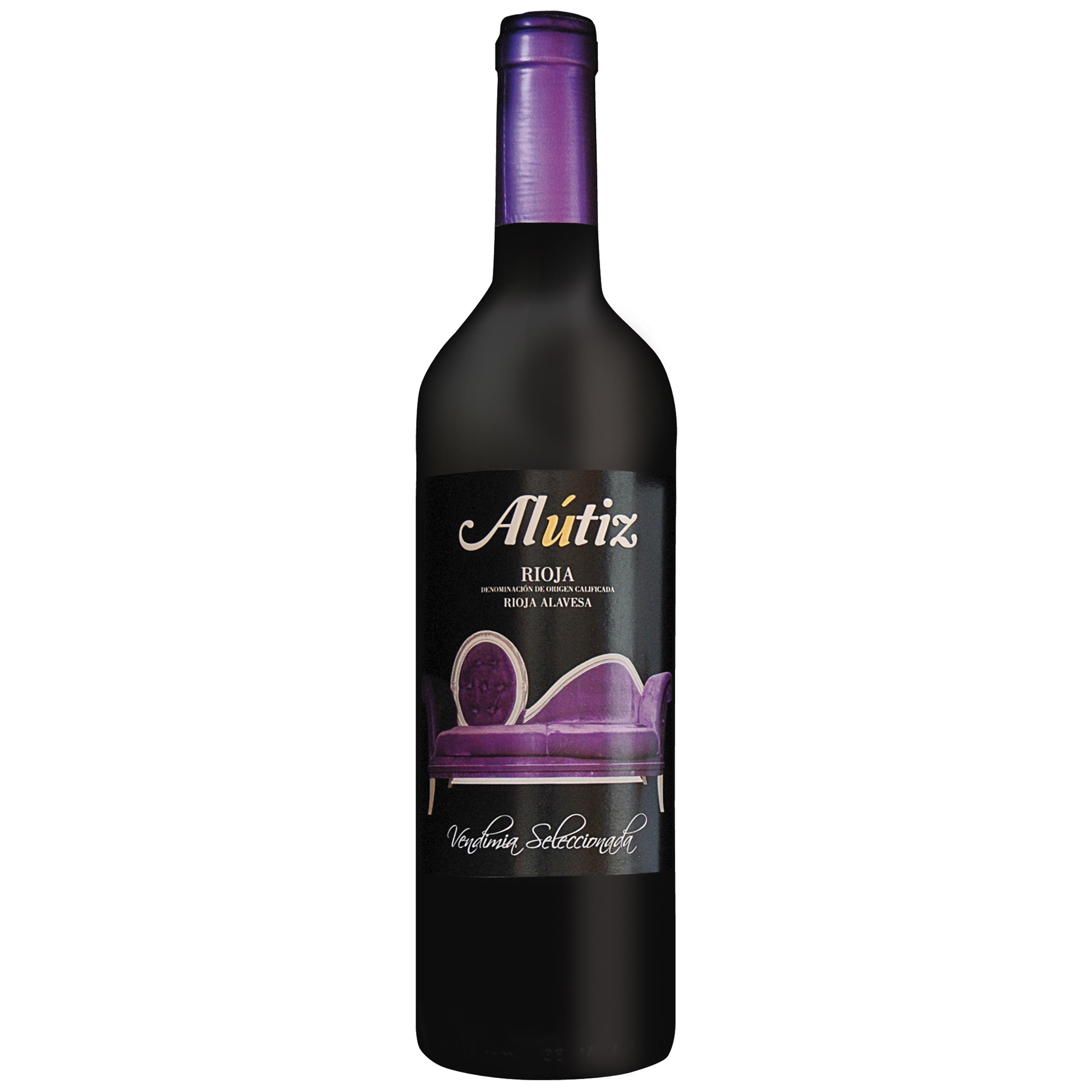 botella alutiz vendimia seleccionada